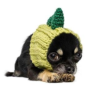 Zoo Snoods Dinosaur Dog Costume – Neck and Ear Warmer Headband for Pets