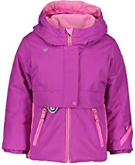 """100% polyester imported zipper closure hand wash lifetime warranty fleece earwarmers;i-grow"""" extended wear system; full-motion articulation; sleeve pockets); integrated clips to retain mittens/gloves; adjustable, water-resistant powder skirt; working..."""