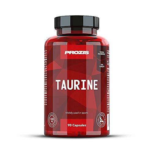 Prozis Taurine, 1000 mg, 90 Capsule