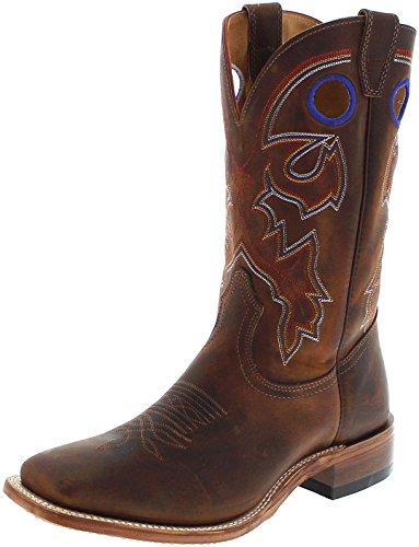 FB Fashion Boots Boulet Herren Cowboy Stiefel 6280 EEE Westernreitstiefel Lederstiefel Westernstiefel Braun 45 EU