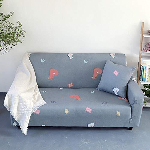 Allenger Funda de Fofá Elástica,Funda de sofá con Estampado elástico, Funda de sofá con Todo Incluido, Protector de sofá-A3_90-140cm