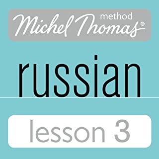 Michel Thomas Beginner Russian, Lesson 3 cover art