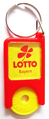 Lotto Bayern - Schlüsselanhänger mit EKW