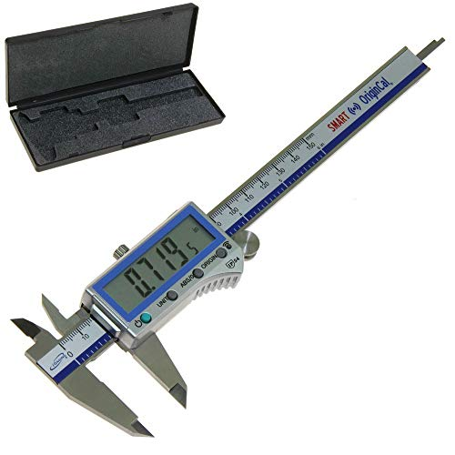 iGaging Digital Electronic Caliper Absolute Origin Smart Bluetooth Connectivity - IP54 Protection/Extreme Accuracy (6