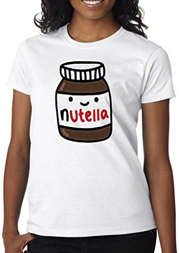 Nutella Lover Women' s Shirt Custom Made T-Shirt (S)