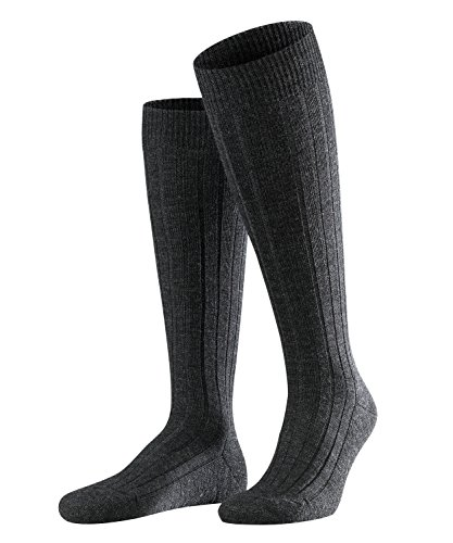 FALKE Herren Teppich im Schuh M KH Socken, Blickdicht, Grau (Anthracite Melange 3080), 41-42 (UK 7-8 Ι US 8-9)