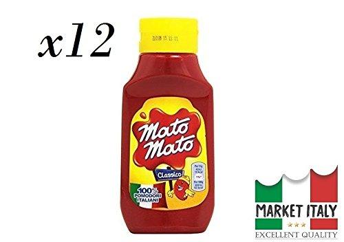 Mato Mato Kraft ketchup classico SQUIZ flacone da (12 x 390 gr)