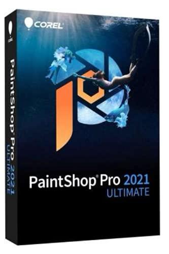 PaintShop: Pro 2021 Ultimate | Photo Editing & Graphic Design Software Plus Creative Collection | Amazon Exclusive 5-Brush Start