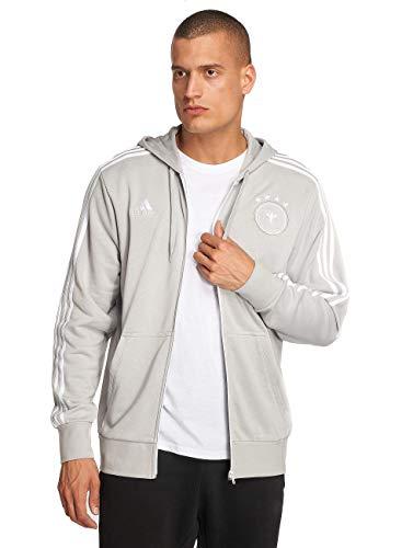 adidas - Fußball-Jacken für Herren in grey two f17/White, Größe XS