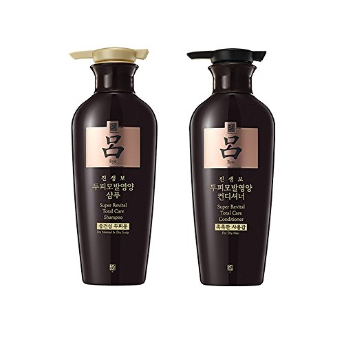 Ryoe Korean Ginsengbo Total Anti-aging Shampoo + Rinse 400g by Amore Pacific
