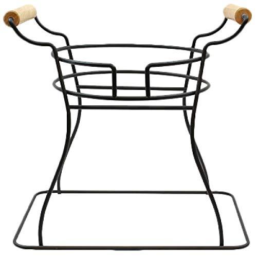 TableCraft Soporte de alambre para dispensador de bebidas, negro, 340 x 255 x 330 mm