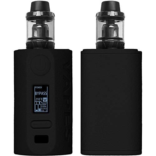 PhoneNatic Case kompatibel mit Vapor Storm Puma 200W - Hülle Silikon schwarz Cover Tasche