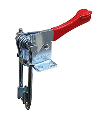POWERTEC 20309 Vertical Latch Action Toggle Clamp, 1000 lbs Capacity, Number 334