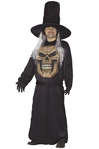 Fiori Paolo 21774 - Macro Teschio Costume Halloween Adulto, Macromostri