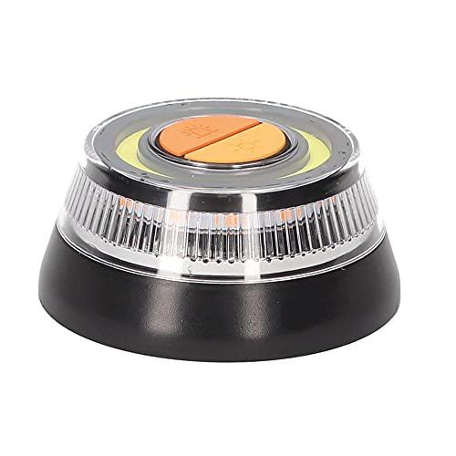 PMK GRUPO - Luz V16 Homologada DGT   Luz Emergencia Coche Averia o Accidente [Visibilidad 1 Km] o Linterna con Base Imantada o Gancho para Colgar de Activación Sencilla IDIADA PC20100269-1 Unidad