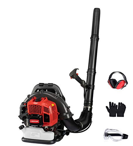 LaGinza LGB52 54CC 2-Cycle Gas 530 CFM 248 MPH Backpack Leaf Blower