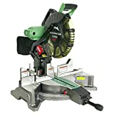 Metabo HPT C12FDHM 12 in. Dual Bevel Miter Saw with Laser Guide (Renewed)
