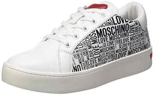 Love Moschino Kobiety, Scarpe Da Donna, Collezione Primavera Estate Liebe Moschino, buty damskie, wiosna lato 2021 kolekcja, Bianco - 41 EU