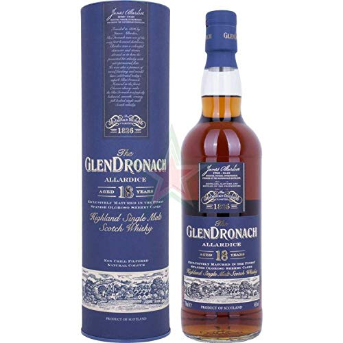 The GlenDronach 18 Years Old ALLARDICE 46,00% 0,70 lt.