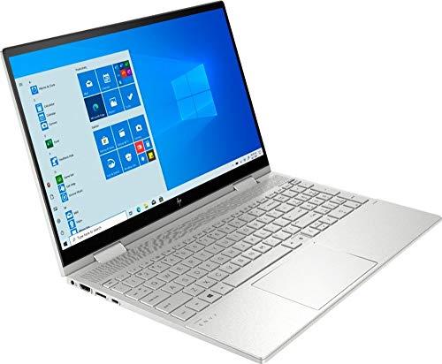 HP Envy x360 2-in-1 15.6' FHD Touch-Screen Laptop, 11th Generation Core i5-1135G7, Wi-Fi 6, Webcam, Backlit Keyboard, USB-C, HDMI, Thunderbolt, Intel Iris Xe Graphics, Win 10 (32GB RAM   1TB SSD)