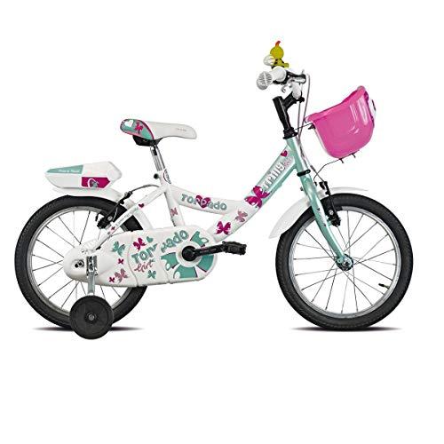 TORPADO Bici T671 Trilly 16'' Bimba 1v Bianco Verde (Bambino)