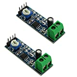 Youliang 2pcs 20 Times LM386 Audio Amplifier Module with 10K Adjustable Resistance?