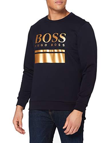 BOSS 50434921, tröja M, Mörkblå