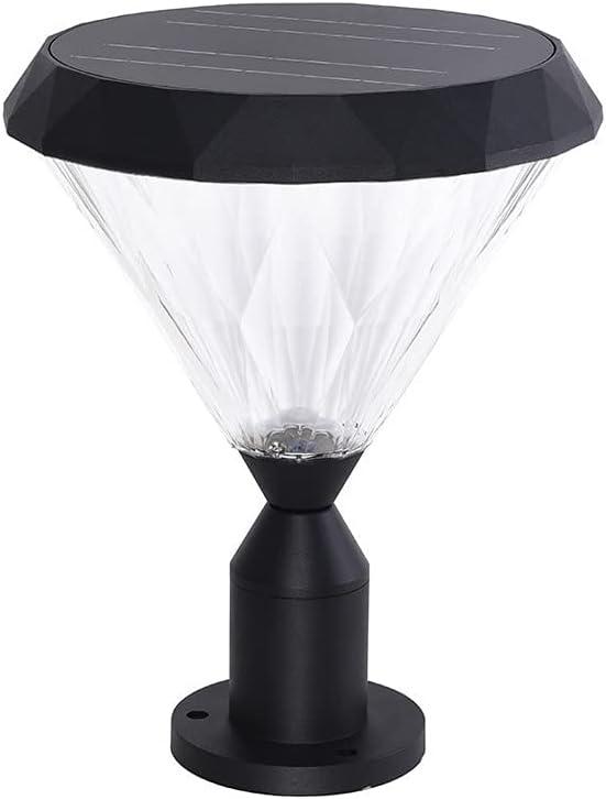 SDFDSSR Diamond Shape Outdoor Solar Retro Outd Villa Post mart Regular discount Lights