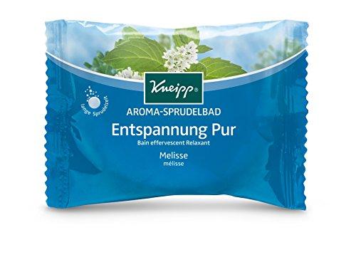 Kneipp Aroma-Sprudelbad Entspannung Melisse 80 g, 6er Pack (6 x 80 g)