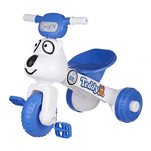 Dash Teddy Foldable Tricycle with Backrest Seat for Boys and Girls...
