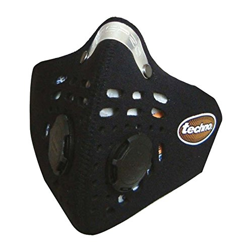 Respro Schutzmaske Techno schwarz schwarz M