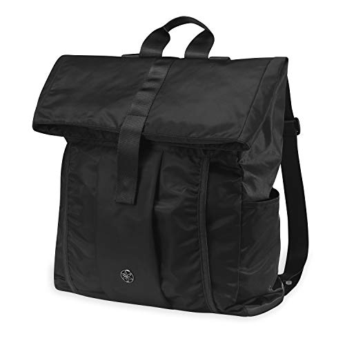 Gaiam Holds Everything Yoga Mat Bag Backpack with Yoga Mat Carrier Sleeve (Fits Most Size Mats)