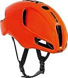Kask Utopia - Casco de Bicicleta para Adulto, Unisex, Color Naranja y Negro