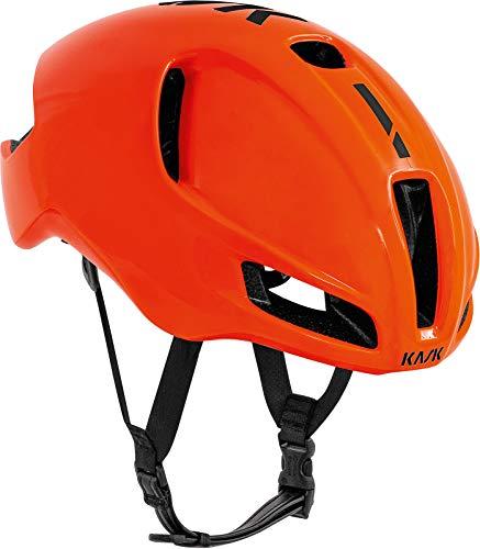 Kask Utopia Erwachsene Fahrradhelm Unisex Orange Black, Medium