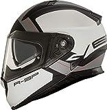 Vemar Zephir Mars Casco da moto Bianco/Argento