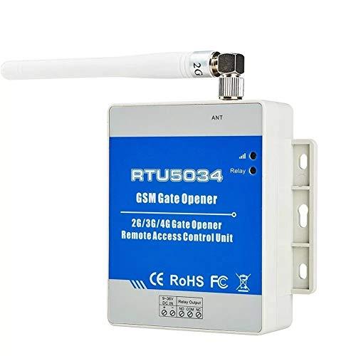 Türklingel Stromversorgung GSM Toröffner Zugang Relais Schalter Fernbedienung von Free Call Home-Alarmsystem Sicherheit for automatische Türöffner, Sicherheits