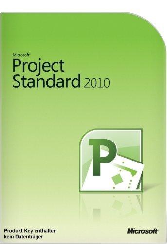 Microsoft Project 2010 Standard Vollversion deutsch 1PC (ohne Datenträger)
