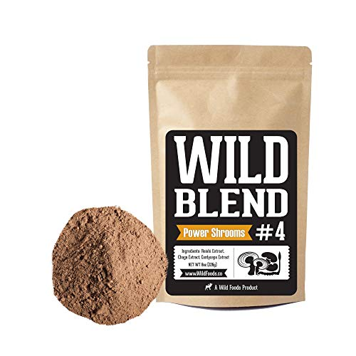 Wild Foods Blend - Power Shrooms - 4oz