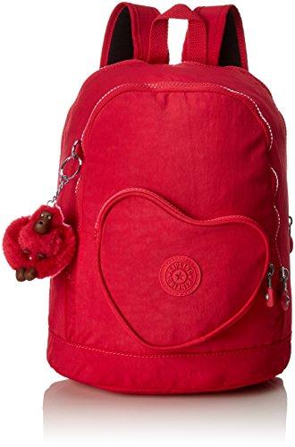 Kipling HEART BACKPACK Mochila infantil  32 cm  9 litros  Rosa  True Pink