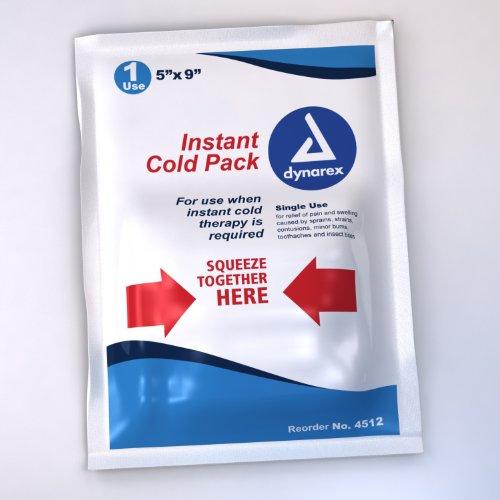 Dynarex Cold Pack 5 x 9 24/Cs