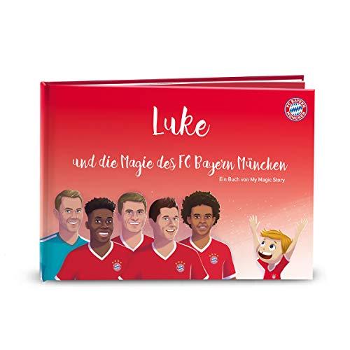 MY MAGIC STORY deutsches Kinderbuch personalisiert - Die Magie des FC Bayern München 0-10 Jahre