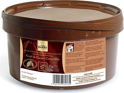 Barry Callebaut - Cacao Barry Cocoa Nibs, 1 kg