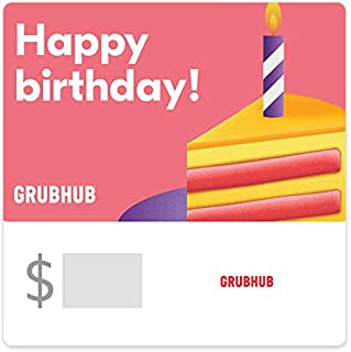 Grubhub Gift Cards - Email Delivery