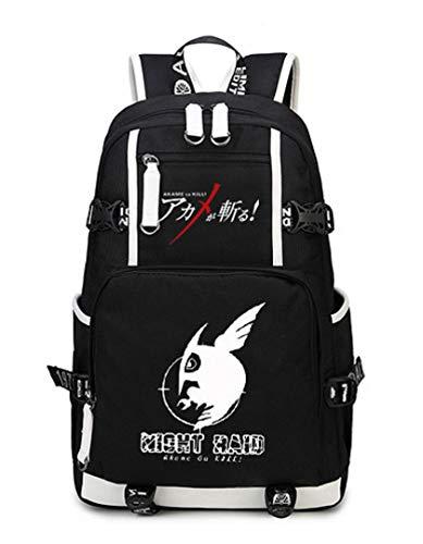 YOYOSHome Anime Akame ga KILL Backpack Cosplay Bookbag Daypack Shoulder Bag School Bag