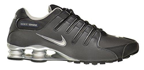 Nike Shox NZ EU Men s Shoes Black/Reflect Silver-Anthracite ...