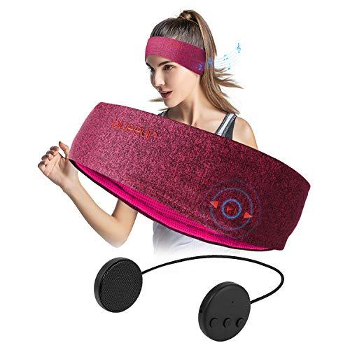 Blueear Diadema de audio bluetooth V4.2 con auriculares inalámbricos (8 horas) para deportes al aire libre, talla única, Rojo