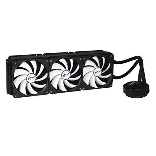 ARCTIC Liquid Freezer 360, Leistungsstarker CPU-Wasserkühler mit 6 120 mm flüsterleisen Lüftern, 360 x 120 mm Radiator, ARCTIC MX-4 Wärmeleitpaste inklusive