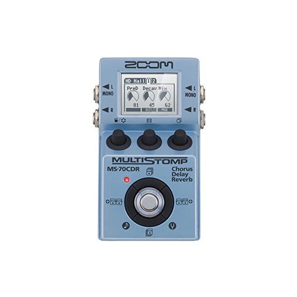 Zoom – Ms-70Cdr/Ifs – Pedale Chorus, Delay e Reverb per Chitarra