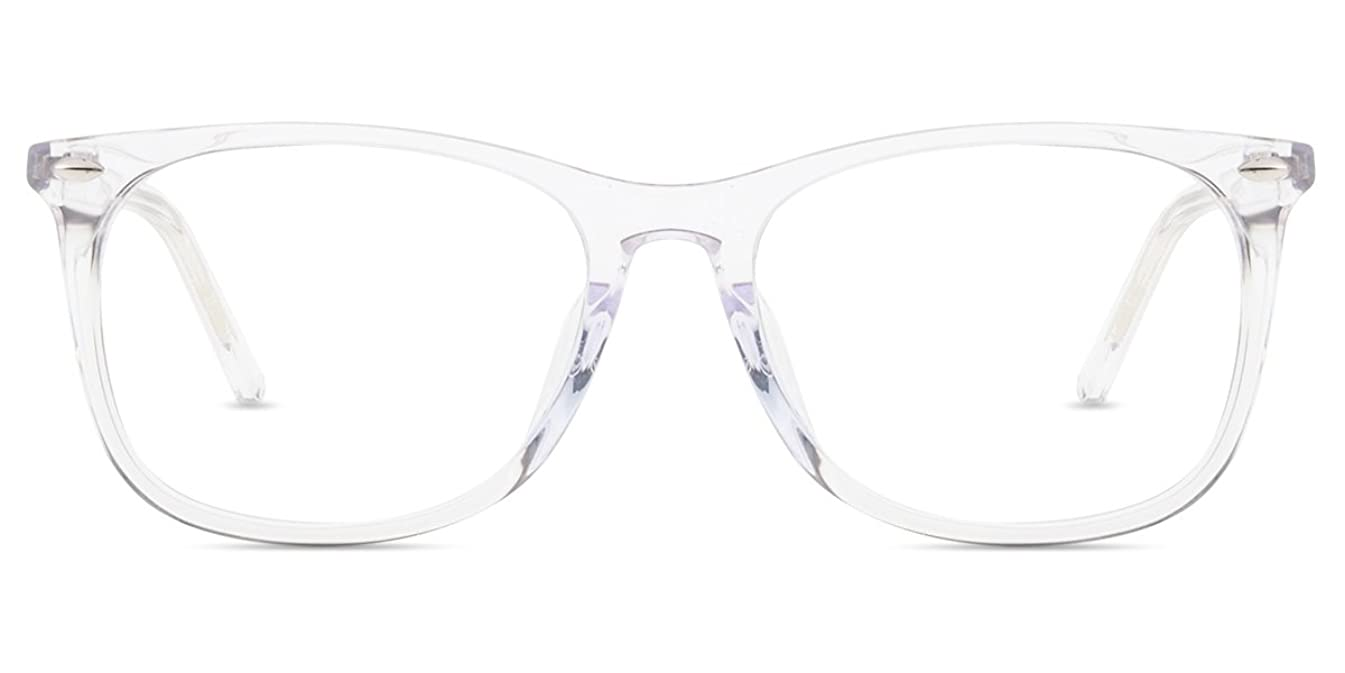 Firmoo Blue Light Blocking Glasses,Nerd Computer eyeglasses,Classic Square Frame Eyewear for Women/Men?