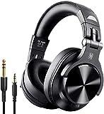 OneOdio Bluetooth Kopfhörer Over Ear Geschlossene HIFI Studiokopfhörer mit Share Port, kabelgebundene und kabellose professionelle DJ-Kopfhörer für E-Drum Piano Gitarre AMP Recording und Monitoring
